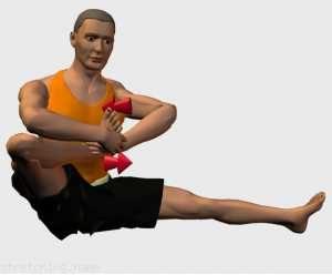 stretching caviglia